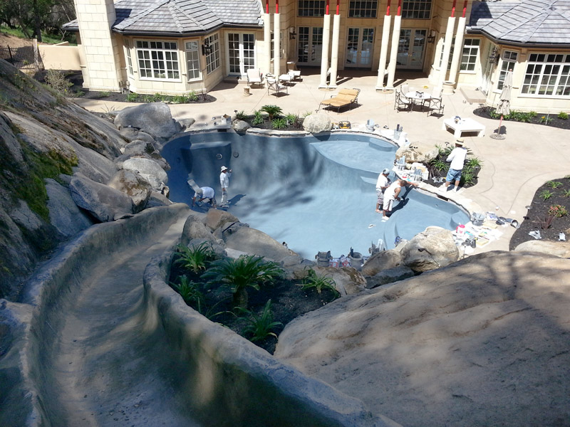New construction generation pool plastering for Pool builders yuba city