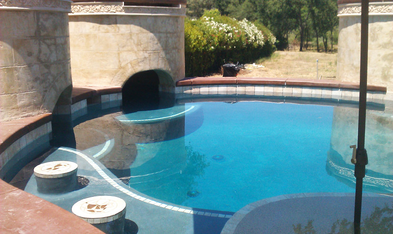 New Construction Generation Pool Plastering