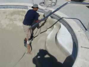 Remodels resurfacing generation pool plastering - How soon can you swim after plastering pool ...